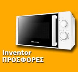 Φούρνος Μικροκυμάτων Inventor MWO-20LW Λευκό