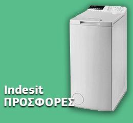 Πλυντήριο Ρούχων Indesit BTW B7220P EU/N 7 kg E