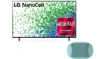 TV LG 55NANO806PA 55'' Smart 4K & Δώρο Φορητό Ηχείο LG XBoom Go PL2B