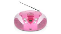 Ράδιο CD Lenco SCD-37 Ροζ