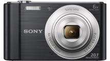 Φωτογραφική Μηχανή Sony DSCW810B Μαύρη