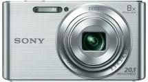 Φωτογραφική Μηχανή Sony DSCW830S Ασημί