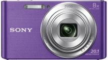 Φωτογραφική Μηχανή Sony DSCW830V Μώβ