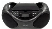 Ράδιο CD Akai APRC61AT Μαύρο