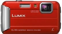 Φωτογραφική Μηχανή Panasonic DMC-FT30EG-R Κόκκινη