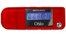 MP3 Player Osio SRM-7540R 4GB Κόκκινο