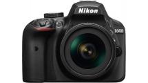 Φωτογραφική Μηχανή Nikon D3400 + 18-105 VR Μαύρη