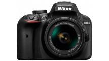 Φωτογραφική Μηχανή Nikon D3400 + AF-P DX Nikkor 18-55 f3.5-5.6G Kit Μαύρη