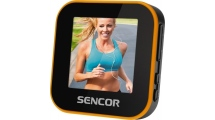 MP4 Player Sencor SFP 6070 Sport Clip Μαύρο/Πορτοκαλί