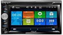 Ράδιο CD Αυτοκινήτου Felix FX-208