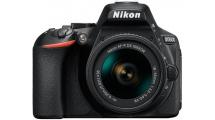 Φωτογραφική Μηχανή Nikon D5600 + AF-P 18-55VR Kit Μαύρη