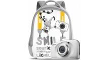 Φωτογραφική Μηχανή Nikon Coolpix W100 Λευκή Backpack kit