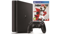 Sony PS4 500GB E Chassis Slim Black + NBA2K18
