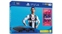 Sony PS4 1TB F Chassis + FIFA 19 + 2nd DS4