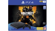 Sony PS4 1TB F Chassis + Call of duty:Black Ops 4