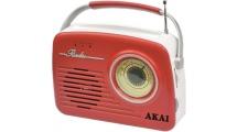 Ραδιόφωνο Akai Retro APR-11R Κόκκινο