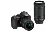 Φωτογραφική Μηχανή Nikon D3500 Double Special Kit AF-P DX 18-55 VR + AF-P 70-300 VR Μαύρη