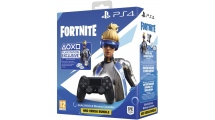 Sony PS4 Dualshock 4 Controller Black V2 + Fortnite VCH