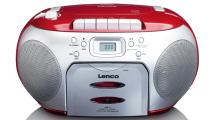 Ράδιο CD Lenco SCD-420 Κόκκινο