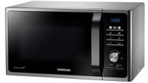 Φούρνος Μικροκυμάτων Samsung MG23F301TAS Ασημί,Μαύρο Γυαλί