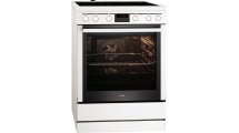 Κουζίνα Κεραμική AEG 347056V-WN Λευκό A -10%