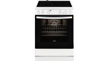 Κουζίνα Κεραμική Zanussi ZCV 65030 WA Λευκό Α