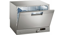 Πλυντήριο Πιάτων Siemens iQ300 SK26E821EU Ασημί 55 cm Α+