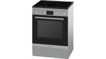 Κουζίνα Κεραμική Bosch Serie 4 HCA744350G Inox A