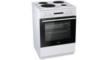 Κουζίνα Korting KE6141 WM Λευκό Α