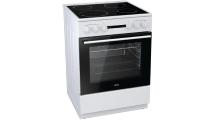 Κουζίνα Κεραμική Korting KEC 6141 WG Λευκό Α