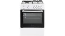 Κουζίνα Μεικτή Eskimo ES 4040 W Λευκή A