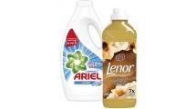Σετ Απορρυπαντικών Ariel x2 & Lenor χ2 Promo gift box