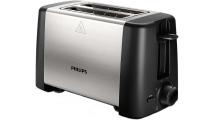 Φρυγανιέρα Philips HD4825/90 Μαύρο/Inox