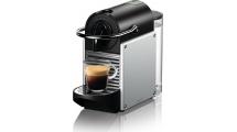 Καφετιέρα Nespresso Delonghi Pixie EN124.S Silver