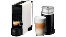 Καφετιέρα Nespresso Krups Essenza Plus Aeroccino XN5111S Λευκό