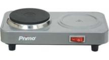 Εστία Ηλεκτρική Primo PRHP-40219 Ασημί