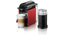 Καφετιέρα Nespresso Delonghi Pixie Aeroccino EN124.RAE Κόκκινο