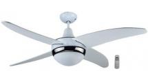 """Ανεμιστήρας Οροφής Primo LED CF48-4C1L 48"""" 120 cm Λευκό"""
