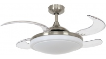 Ανεμιστήρας Οροφής Beacon Fanaway Evora 94cm Brushed Chrome