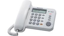 Ενσύρματο Τηλέφωνο Panasonic KX-TS580EX2W Λευκό