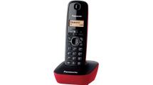 Ασύρματο Τηλέφωνο Panasonic KX-TG1611GRR Red