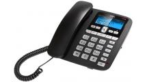 Ενσύρματο Τηλέφωνο AEG Voxtel C110 Μαύρο