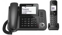 Ασύρματο Τηλέφωνο Panasonic KX-TGF310EXM DUO Black
