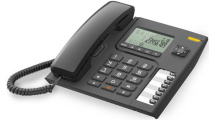 Ενσύρματο Τηλέφωνο Alcatel T76 Μαύρο