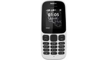 Κινητό Τηλέφωνο Nokia 105 2017 Dual Sim White