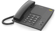 Ενσύρματο Τηλέφωνο Alcatel T26 Μαύρο
