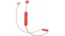 Ακουστικά Bluetooth Handsfree Sony WI-C300R Red