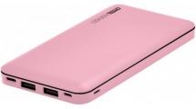 Power Bank Crystal Audio PBK-10P 10000mAh Pink
