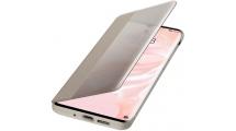 Θήκη Huawei P30 Pro Smart View Flip Cover Khaki