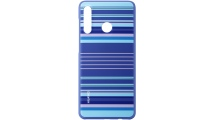 Θήκη Huawei P30 Lite TPU Colorful Blue Lines